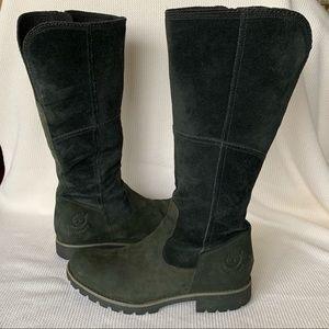 Timberland Black Knee High Waterproof Boots